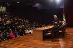 Palestra com sobreviventes da bomba de Hiroshima (ufpr) Tags: hiroshima palestra palestracomsobreviventesdabombadehiroshima ufpr sobreviventesdabombadehiroshima