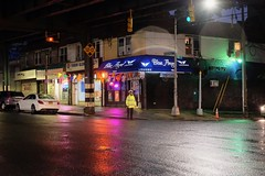 Blue Angel Lounge - Queens, NY (dangaken) Tags: ny nyc newyorkcity newyorknewyork newyorkny bigapple empirestate city urban eastcoast september2018 september manhattan midtownmanhattan upperwestside downtown bar lounge tavern pub beer liquor rain wet neon rooseveltave 114th queens flushing 7train flushingline corona