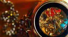 Pocket watch #Cogwheel HMM (Ker Kaya) Tags: cogwheel macromondays macromonday watch bokeh red blue hmm mm kerkaya sonydscrx10m4 sony pocketwatch macro