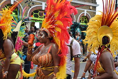 DSC_8302 (photographer695) Tags: notting hill caribbean carnival london exotic colourful costume girls dancing showgirl performers aug 27 2018 stunning ladies