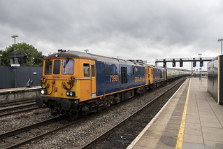 GBRF Out of the Ordinary railtour at Cardiff Central