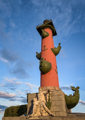 Saint Petersburg, Rostral column (Michaël83) Tags: russie russia росси́я rossiya saintpetersburg санктпетербу́рг sanktpeterburg nikon d750 tamronsp2470mmf28divcusd rostralcolumn rostral column canonfrance