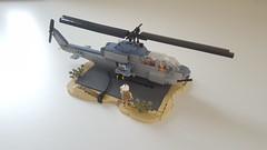 Lego AH-1W Super Cobra (joopatkleppie) Tags: lego attackhelicopter usmc helicopter us marines cobra whiskey iraq