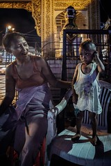Yangon Portrait Series (Crossing China) Tags: myanmar asia seasia girl boy man handsome beautiful street streetphotography streetportraits streetportrait streetfood shadows light night smoke yangon rangoon burma