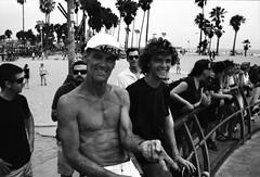 Venice Beach, L.A, CA (cestlameremichel) Tags: washi d film 500 iso aerial black white bnw monochrome monochromatic noir et blanc argentique analog analogue analogica 35mm filmisnotdead los angeles santa monica venice beach summer