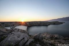 Learn To Rest, Not To Quit (_Natasa_) Tags: pag croatia island rocks bridge paskimost most sunset water adriaticsea sea jadranskomore landscape seascape natasaopacic natasaopacicphotography canon canoneos7d sigma sigma1020mm nature art