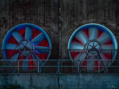 leuchtende Räder (Meinersmann, Thomas) Tags: 1240mm128pro duisburg lapadu nrw omdem5ii olympus stahlindustrie thomasmeinersmann