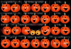 (Cliff Michaels) Tags: iphone8 photoshop pse9 pumpkins hallowen kroger