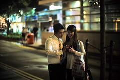 """Pretty couple"" (jaxting) Tags: jaxting 九龍 kowloon 香港 hongkong hk street people candid noctilux leica"