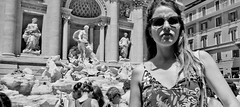 Got in the way of the historic monument, again! (Baz 120) Tags: candid candidstreet candidportrait city candidface candidphotography contrast street streetphoto streetphotography streetcandid streetportrait strangers sony a7 rome roma europe women monochrome monotone mono noiretblanc bw blackandwhite urban life primelens portrait people pentax20mm28 italy italia girl grittystreetphotography decisivemoment