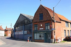 H C Chambers & Son Bures St Mary (Chris Baines) Tags: hc chambers son former office bus garage bures st mary suffolk