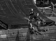 SO8A6816 (Risto Kuisma) Tags: helsinki canon monochrome blackandwhite outdoor finland sport race tough toughviking2018 eos group water liukumäki kisa life finlande happy visit