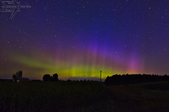 Rural Lighting (Winglet Photography) Tags: wingletphotography northernlights auroraborealis georgewidener stockphoto solarstorm aurora geomagnetic earth sun wisconsin canon 7d storm solar georgerwidener night nighttime longexposure dark inspiration lights colors sky nature cecil shawano