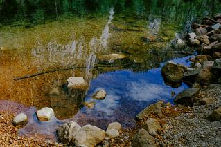 River bed, Yosemite Valley