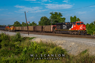 CN 3064 | GE ET44AC | CN Shelby Subdivision