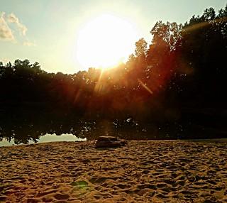 The Pond full golden hour photo 1