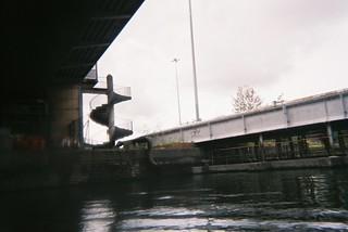 Under the Plimsoll Bridge