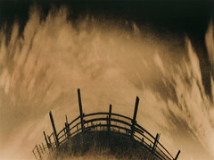 Revolver Ranch (micalngelo) Tags: analog filmphoto alternativeprocess alternativephotography lithprint lithprocess moerschlith pinholecamera delta100film anamorphicpinhole vermeercameras vermeerpinholecamera lomojunkie lomography ranch revolverranch ilforddelta100