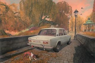 That Darn Dog!... Autumn @ Soul2Soul River