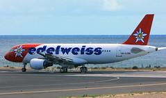 HB-IHZ (Ken Meegan) Tags: hbihz airbusa320214 1026 edelweissair arrecife 2412017 lanzarote airbusa320 airbus a320214 a320