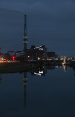 Randers Kraftvarmeværk på Randers Havn