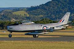 CAC CA-27 Sabre Mk.32 A94-352 (Alexandre Bosle) Tags: royalaustralianairforce raaf wingsoverillawarra commonwealthaircraftcorporation cac ca27 sabre a94352 vhsbr mk32 albionparkrail newsouthwales australia
