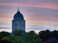 Suomenlinna fortress combined lighthouse & church (sonjawitting) Tags: astoundingimage sunset astoundingimages citycaptures landscapephotography landscapecaptures unescoheritage suomenlinnafortress suomenlinna church lighthouse lighthousechurch