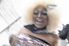 In motion (' A r t ') Tags: winner alt copenhagen pride man dressed up motion shaking shacky make cross dresser gay drag queen happy happiness twinkle glimmer mica glitter disco