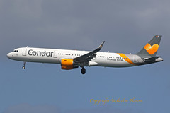 A321 D-ATCE CONDOR \THOMAS COOK (shanairpic) Tags: jetairliner passengerjet a321 airbusa321 gcrr arrecife lanzarote condor thomascook datce