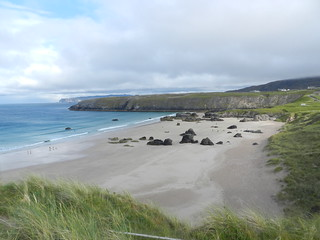 Sango Sands(East)from Viewpoint, Durness, North West Sutherland, Aug 2018