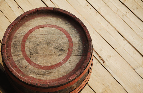 One Old Wooden Barrel