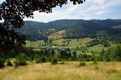 Uitzicht op Bernau. (limburgs_heksje) Tags: duitsland deutschland germany zwartewoud schwarzwald black forest bernau