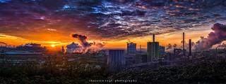 Panorama Duisburger Industrie