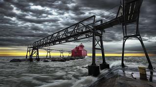 lighthouse sturgeon bay wisconsin
