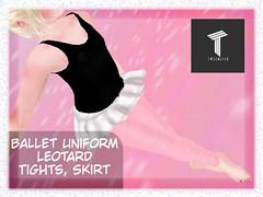Ballet Uniform Tweenster Girl Ad (Laylani Marie) Tags: tweenstar tweenster ballet uniform leotard tights skirt tween ballerina professional event