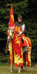 The Knight (Puckpics) Tags: sirthomasofloxwood loxwood joust livinghistory historicalreenactment actor knight chivalry defender rider westsussex england