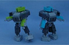 Protectors (Mantis.King) Tags: lego legogaming legomecha legowargaming moc mechaton microscale mobileframezero mf0 mfz mecha mech scifi futuristic wargames