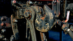 Schraubenkupplung - Zughaken (German Railways) (dl1ydn) Tags: dl1ydn schraubenkupplung bahn db zughaken bahnwaggon manuell owl mechanik eisenbahn nahaufnahmen detail