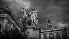 Storm Brewing Rome (HutchSLR) Tags: hutchslr leica typ240 italy rome roma monochrome blackandwhite storm