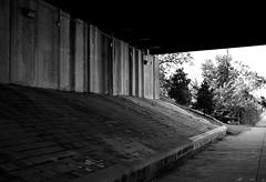 Underneath (pjpink) Tags: blackandwhite bw monochrome northside rva richmond virginia august 2018 summer pjpink 2catswithcameras urban