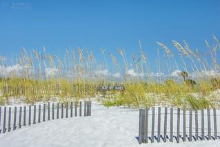 Keep Off Dunes - Pensacola Beach, Florida