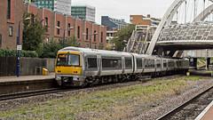 168004 (JOHN BRACE) Tags: 1997 brel adtranz derby built class 168 dmu 168004 seen station chiltern railways silver livery wembley stadium
