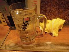 Whiskey highball (kevincrumbs) Tags: tokyo 東京 taito 台東 taitoku 台東区 ueno 上野 daitouryou 大統領 もつ焼き大統領 alcohol cocktail highball ハイボール
