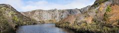 Crater Lake, Cradle Mountain N.P (Tindo2 - Tim Rudman) Tags: cradlemountain tasmanianwildernessworldheritagearea craterlake landscape nationalpark tasmania panorama geo:country=australia australia geo:state=tasmania geo:location=cradle mountain