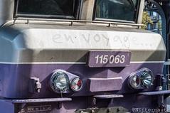 63e du nom (Un Ninternaute) Tags: paris pe parisgaredelest oldtrain oldschool sncf idf speciaux transspécial train histoire historique bb15000 bb15000ev bb15000envoyage bb15063 nezcassé nezcasse en voyage