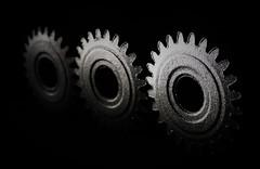 Cogwheels..x (Lisa@Lethen) Tags: cogwheels macromondays macro hmm mm metal