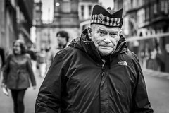 The North Face (Leanne Boulton) Tags: people portrait urban street candid portraiture streetphotography candidstreetphotography candidportrait streetportrait eyecontact candideyecontact streetlife old elderly man male face expression eyes mood feeling atmosphere veteran military hat soldier scottish tone texture detail depthoffield bokeh naturallight outdoor light shade city scene human life living humanity society culture lifestyle canon canon5dmkiii 70mm ef2470mmf28liiusm black white blackwhite bw mono blackandwhite monochrome glasgow scotland uk