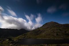 Crib Goch by moonlight (Explored) (Neil W2011) Tags: landscape snowdonia nationalpark wales snowdon cribgoch night moonlight stars longexposure fujifilm xt20