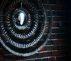 Metal Wall Art (Ken Little - New Hampshire) Tags: art metal brick chart house charthouse boston massachusetts