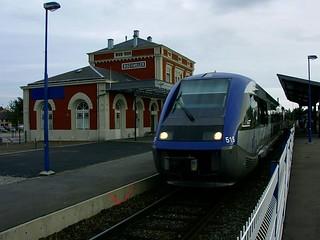 Gare de Bischwiller (Alsace, France)